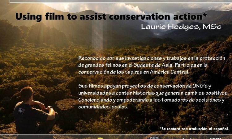 Using film to assist conservation action.